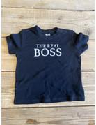 UMustHave Sale shirt kind | 86/92 | the real boss zwart