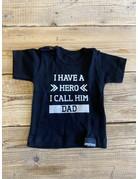UMustHave Sale shirt | 62/68 | i have a hero i call him dad zwart