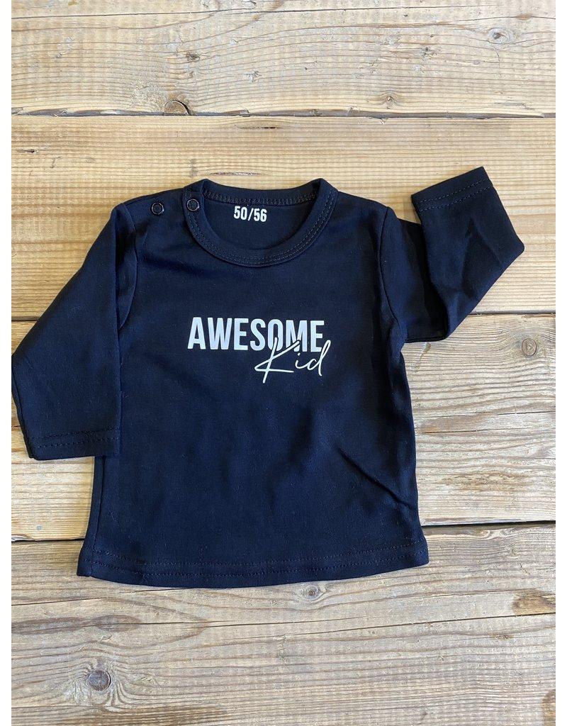 UMustHave Sale shirt kids | 50/56 | awesome kid zwart