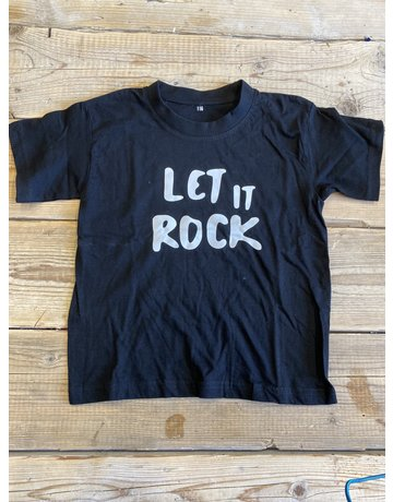 BrandLux Sale shirt kind | 116 | let it rock zwart