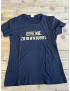 UMustHave Sale shirt | S | effe nie zit in m'n bubbel zwart