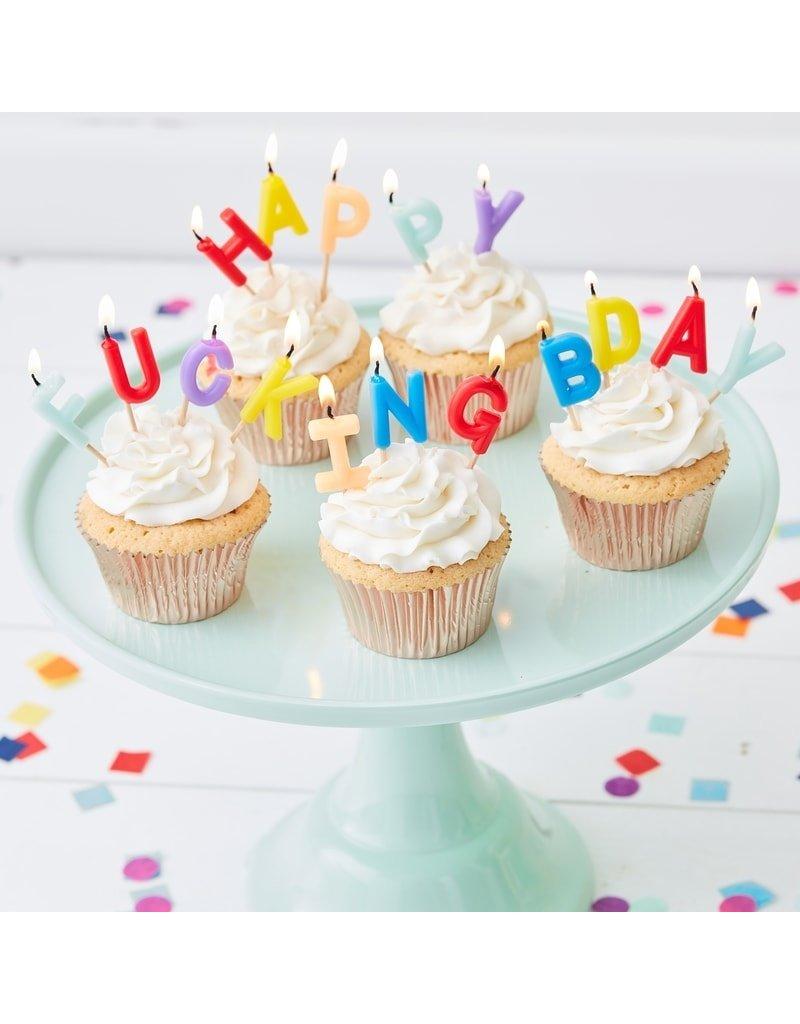 Gingerray Happy fucking Birthday kaars