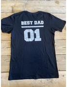 UMustHave Sale shirt | S | Best dad 01 zwart