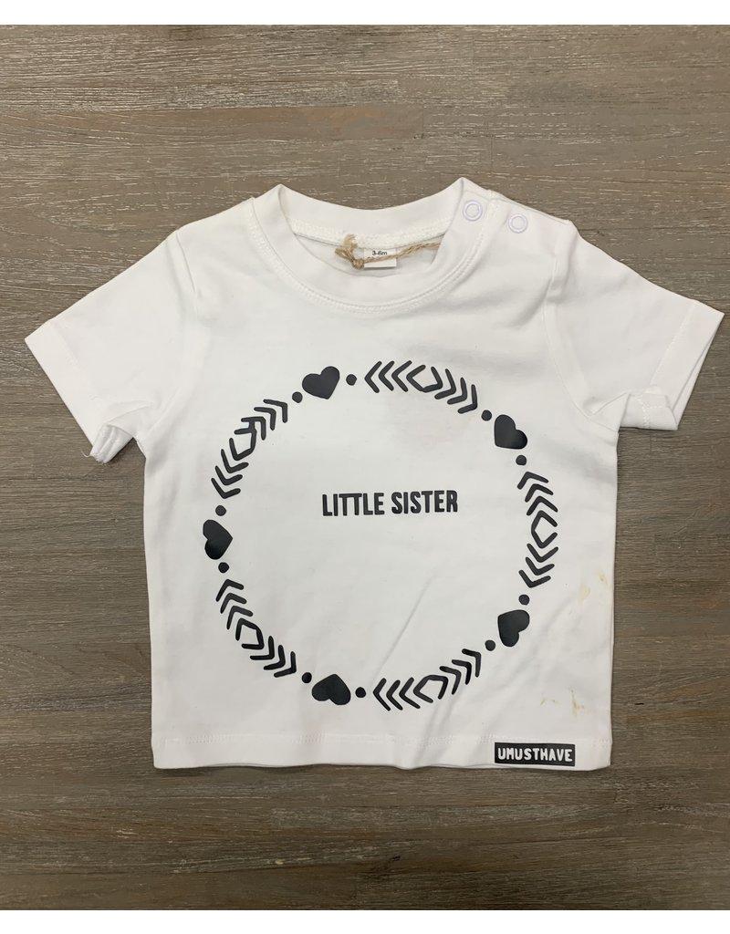 UMustHave Sale shirt kind | 3-6m | Little Sister wit