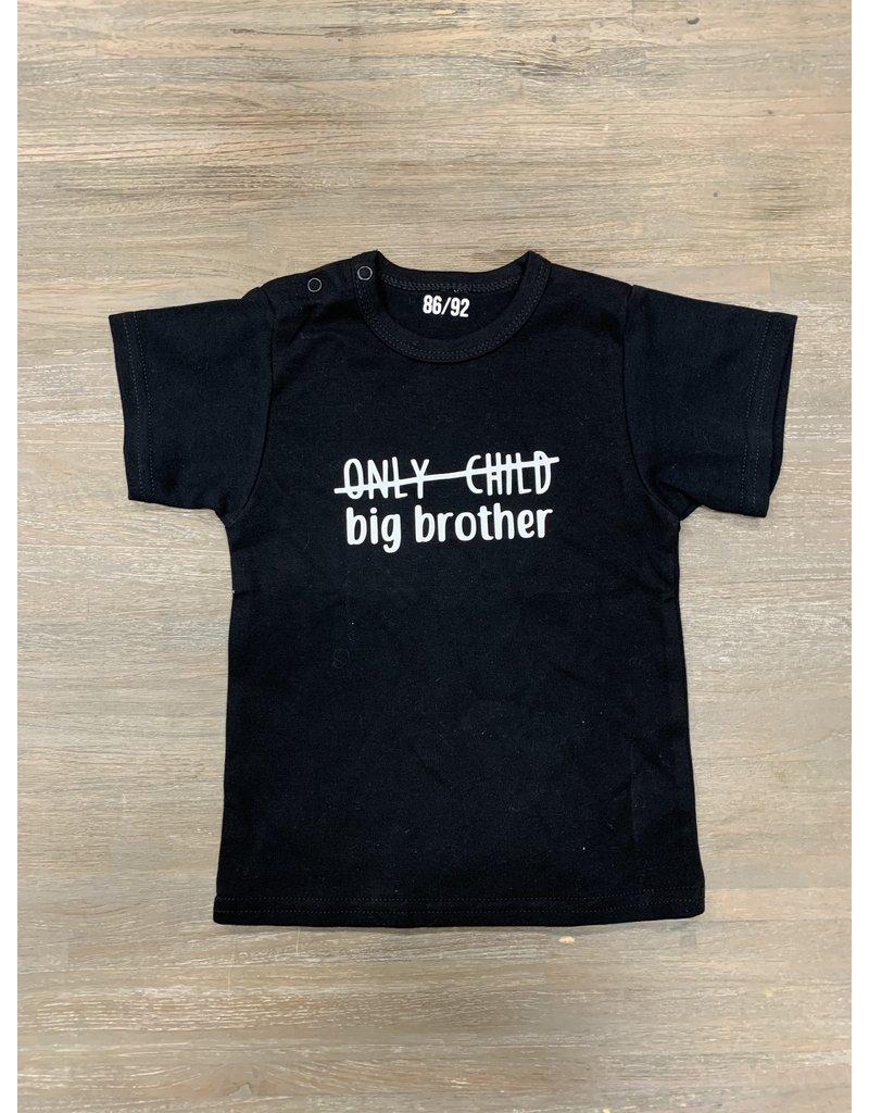 UMustHave Sale shirt kind | 86/92 | Big Brother zwart