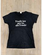 UMustHave Sale shirt | S | Blondies have more fun zwart
