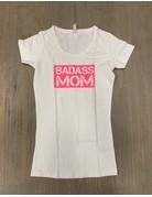 UMustHave Sale zwangerschapsshirt | S | Badass Mom wit