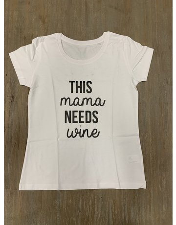 UMustHave Sale shirt | S | This Mama Needs Wine wit