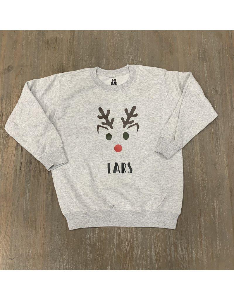 UMustHave Sale Sweater kind | 7/8Y | Lars grijs