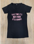 UMustHave Sale zwangerschapsshirt   XL   Not Food zwart
