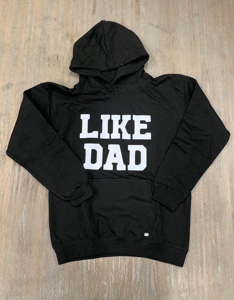 UMustHave Sale hoodie kind | 12/13 jaar | Like Dad zwart