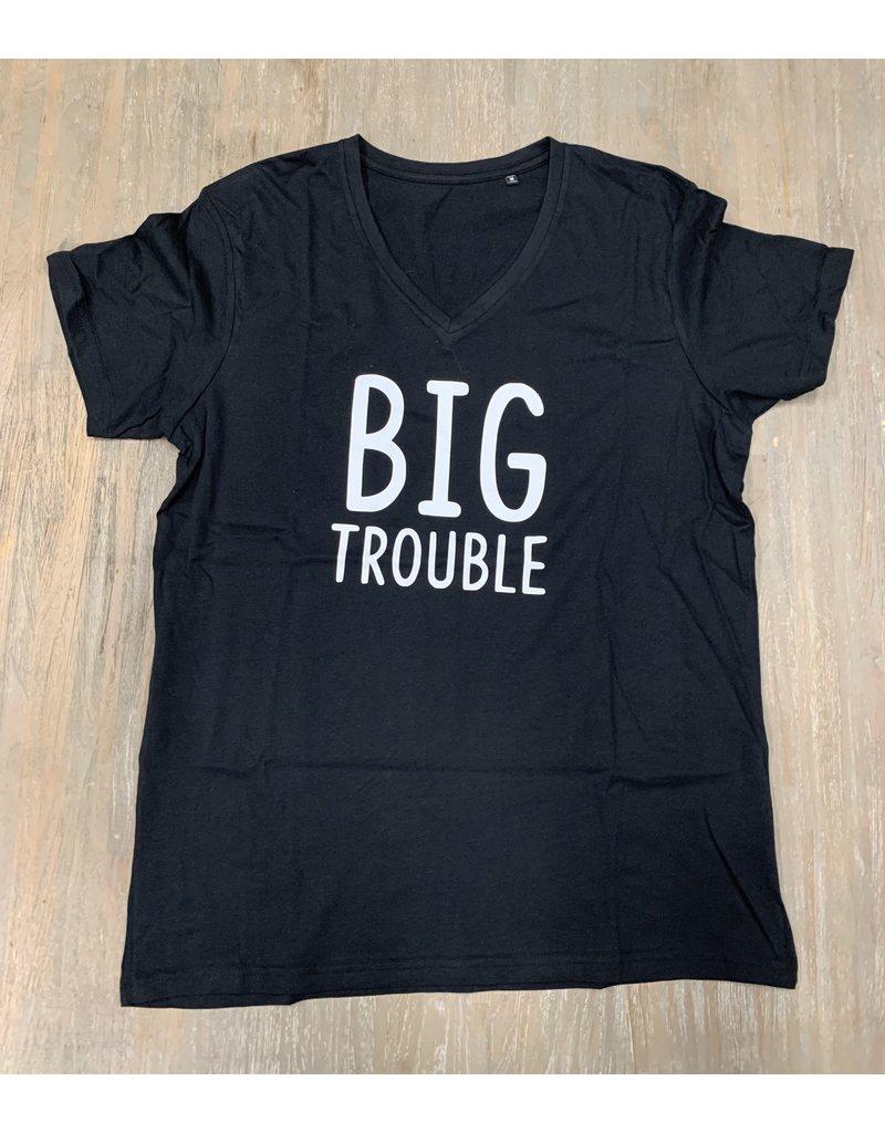 UMustHave Sale shirt   M   Big Trouble zwart
