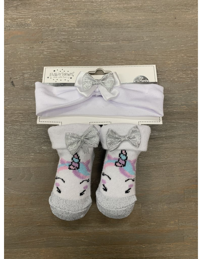 UMustHave Sale Sokjes Kind | 6/12 maanden | Unicorn Silver