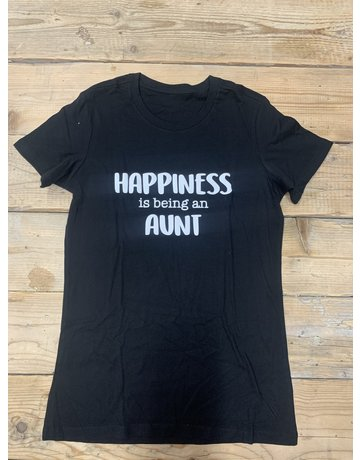 UMustHave SALE SHIRT | M | HAPPINES IS BEING AN AUNT