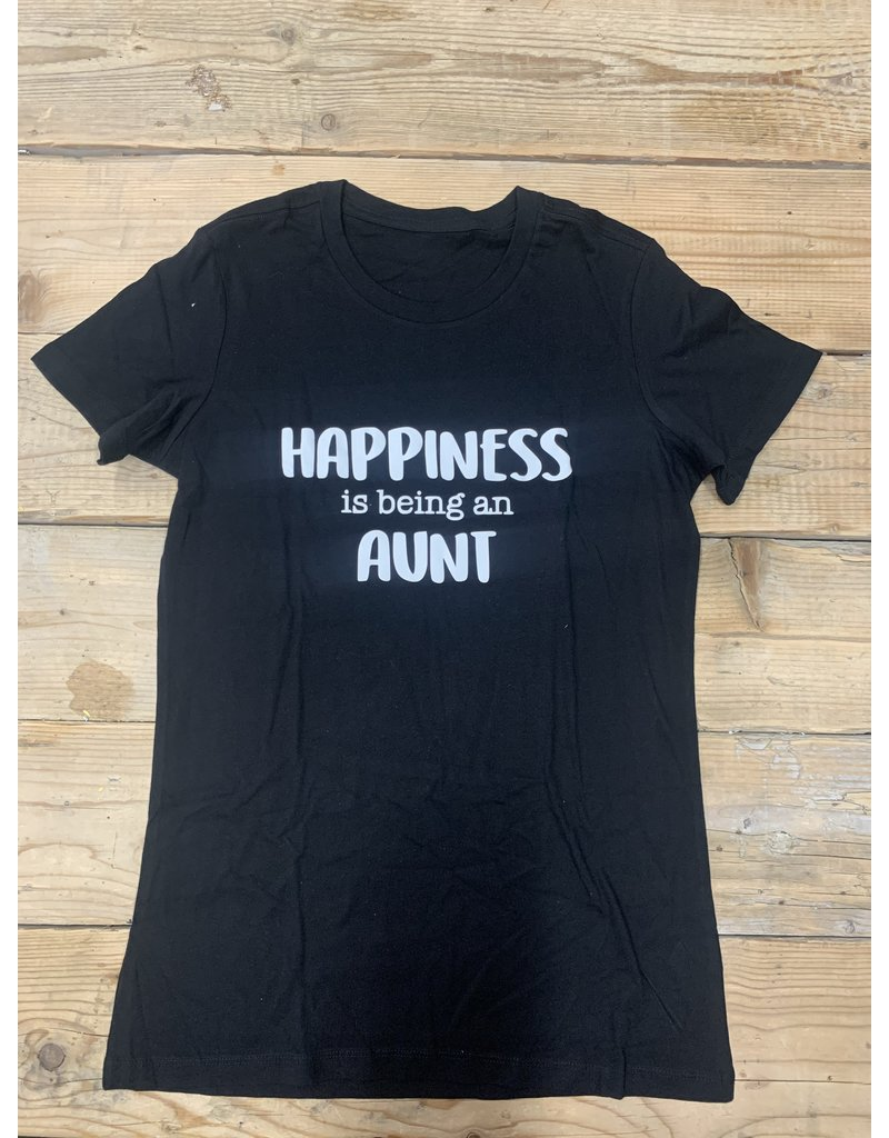 UMustHave SALE SHIRT   M   HAPPINES IS BEING AN AUNT