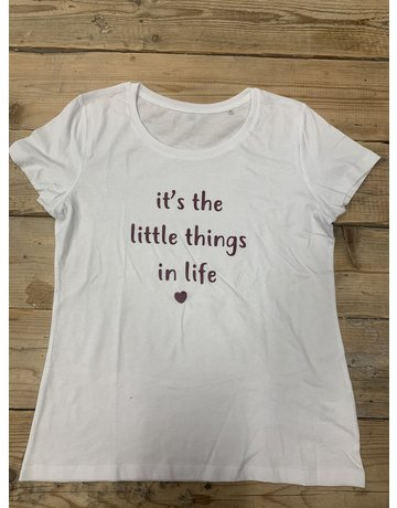 UMustHave SALE SHIRT | M | IT'S THE LITTLE THINGS IN LIFE