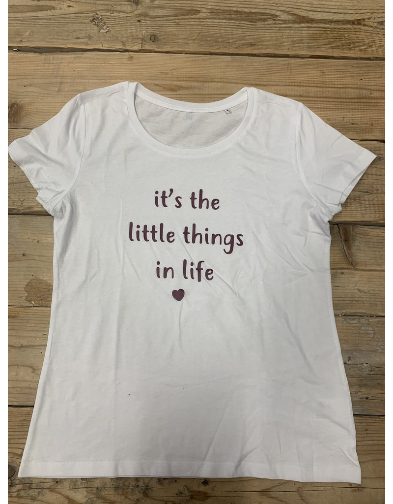 UMustHave SALE SHIRT   M   IT'S THE LITTLE THINGS IN LIFE
