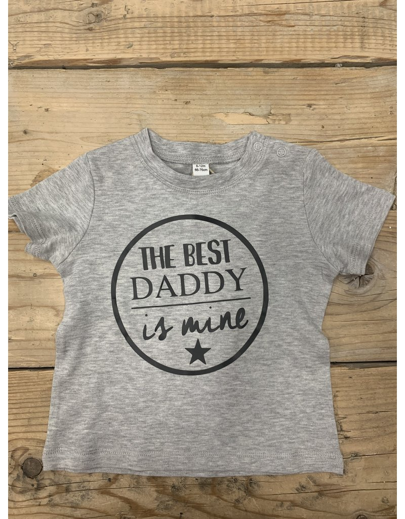 UMustHave SALE SHIRT KIND | 6-12 MONTHS | THE BEST DADDY IS MINE