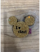 UMustHave SALE HAARSPELD KIND   MINI MOUSE GOUD   ONE SIZE