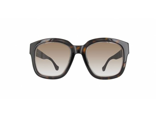 Balenciaga dames zonnebril Dark Havana / Gradient Bruin