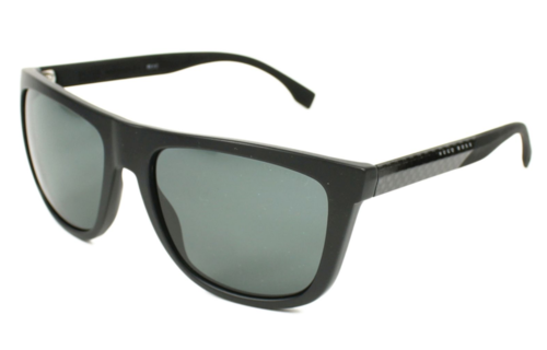 Hugo Boss Hugo Boss heren zonnebril Carbon Fiber Mat Black