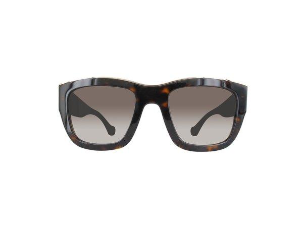 BA0059-52K-52 dames zonnebril Dark Havana