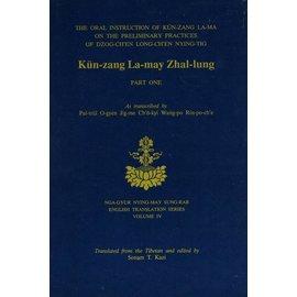 Diamond Lotus Publishing Kün-zang La-may Zhal-lung Part 1 by Patrul Rinpoche - Translated and edited by Sonam T. Kazi