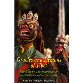 Book Faith India Oracles and Demons of Tibet - The Cult and Iconographie of the Tibetan Protective Deities by Rene De Nebesky-Woijkowitz, HC