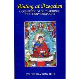 Padma Karpo Tranlation Committee Hinting at Dzogchen - A Compendium of Teachings by Tsoknyi Rinpoche by Lotsawa Tony Duff