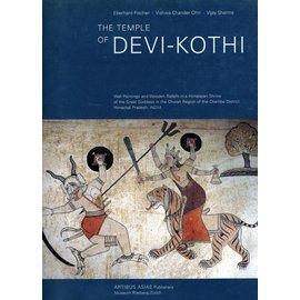 Artibus Asiae Publishers The Temple of Devi-Kothi by Eberhard Fischer, Vishwa Chander Ohri, Vijay Sharma