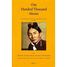 Brill One Hundred Thousand Moons - An Advanced Political History of Tibet Volume 1 & 2 - by Tsepon Wangchuk Deden Shakabpa - Translated by Derkek F. Maher