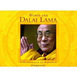 Diederichs Worte des Dalai Lama - 40 Weisheitskarten mit Begleitbuch