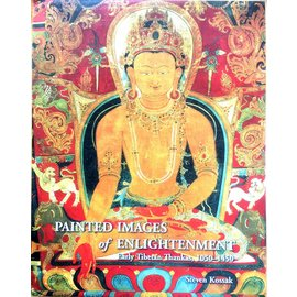Marg Publications Painted Images of Enlightenment - Early Tibetan Thangkas, 1050 - 1450 - by Steven Kossak
