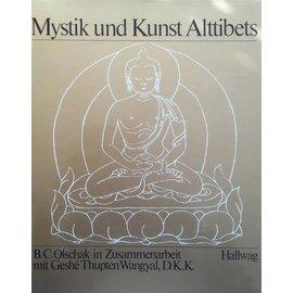 Hallwag Mystik und Kunst Alttibets - B. C. Olschak in Zusammenarbeit mit Geshe Thupten Wangyal, D. K. K.