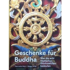 Waldgut Verlag Geschenke für Buddha - Was die acht tibetischen Glückszeichen bedeuten - Tibet-Institut Rikon - von Rudolf Häggeli et al.