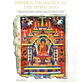 Serindia Publications Hidden Treasures of the Himalyas - Tibetan Manuscripts, Paintings and Sculptures of Dolpo - by Amy Heller