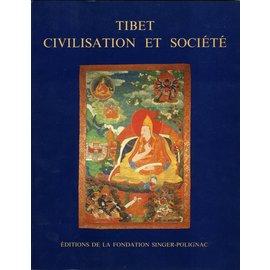 Editions FSP Tibet Civilisation et Société: Colloque organisé par la Fondation Singer-Polignac à Paris, 1987. Ed par Fernand Meyer