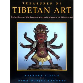 Oxford University Press Treasures of Tibetan Art: Collections of the Jacques Marchais Museum of Tibetan Art, by Barbara Lipton and Nima Dorjee Ragnubs