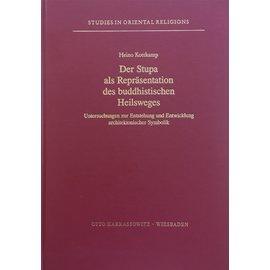 Harrassowitz Der Stupa als Repräsentation des buddhistischen Heilsweges, von Heino Kottkamp