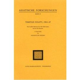 Harrassowitz Tibetan Polity, 1904 - 1937, by Parshotam Mehra