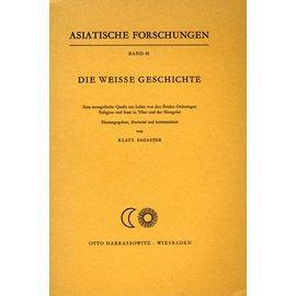 Harrassowitz Die Weisse Geschichte, von Klaus Sagaster