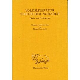 Harrassowitz Volksliteratur Tibetischer Nomaden: Lieder und Erzählungen, von  Margret Causemann
