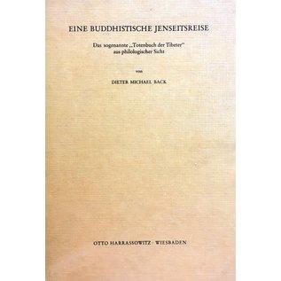 Harrassowitz Eine Buddhistische Jenseitsreise, von Dieter  Michael Back