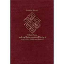 Garuda Verlag Tibet, Nepal und der Kulturraum des Himalaya (mit Ladakh, Sikkim und Bhutan), by Jürgen C. Aschoff
