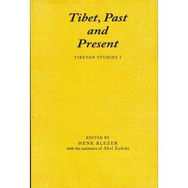 Vajra Publications Tibet, Past and Present, Tibetan Studies I, ed. by Henk Blezer