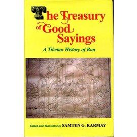 Motilal Banarsidas Publishers The Treasury of Good Sayings: A tibetan History of Bon, by Samten G. Karmay