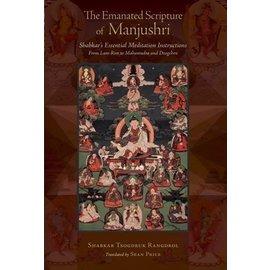 Snow Lion Publications Emanated Scripture of Manjushri: Shabkar's Essential Meditation Instructions