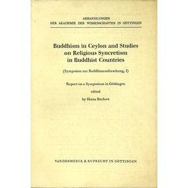 Vandenhoeck & Ruprecht Buddhismus in Ceylon and Studies on the Religious Syncreticism in Buddhist Countries, by Heinz Bechert