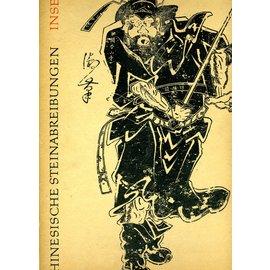 Insel Verlag Chinesische Steinabreibungen, von  Gerhard Pommeranz-Liedtke