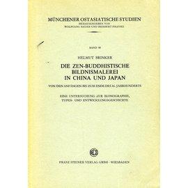 Franz Steiner Verlag Die Zen-Buddhistische Bildnismalerei in China und Japan, von Helmut Brinker